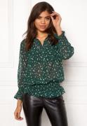 co'couture Daisy Smock Shirt 74 Jade XS