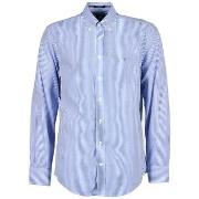 Skjortor med långa ärmar Gant  THE POPLIN BANKER STRIPE