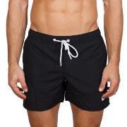 Frank Dandy Badbyxor Breeze Long Swimshorts Svart polyester X-Large He...