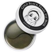 Gold Black Pearl Eye Mask,  Shangpree Ansiktsmask