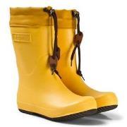 Bisgaard Rubber Boot Wool Yellow 32 EU
