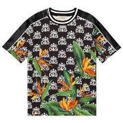 Dolce & Gabbana Hawaii T-shirt Svart 10 years